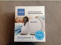 Price reduced - Binatone Babysense 5 - breathing and movement monitor