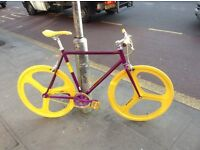 Aluminium NOLOGO Brand new single speed fixed gear fixie bike/ road bike/ bicycles aay