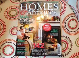 January 2017 copy of Homes & Antiques