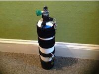 7 litre 232 bar dive cylinder