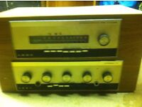 Leak stereo 70 amp tuner and dynatron speakers