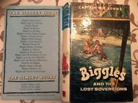 Biggles and the Lost Sovereigns by Captain W E Johns - 1st Edition
