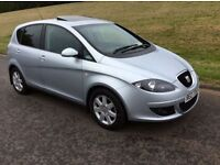 2008 SEAT ALTEA 1.6 * * YES 21.000 GENUINE MILES * METALLIC SILVER * * JUST AS NEW * * *