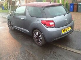 Citroen DS3 1.6 VTI DStyle 2010 damaged , repairable, repaired