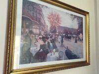 Large Victorian Parisian scene