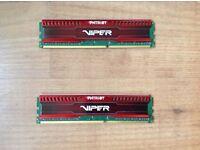 Viper 2x4GB 1500mhz RAM