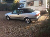 Classic 1995 Saab Turbo Convertible