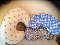 3 Nursing Pillows; Full, Compact & Travel!