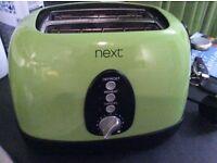 Green next toaster