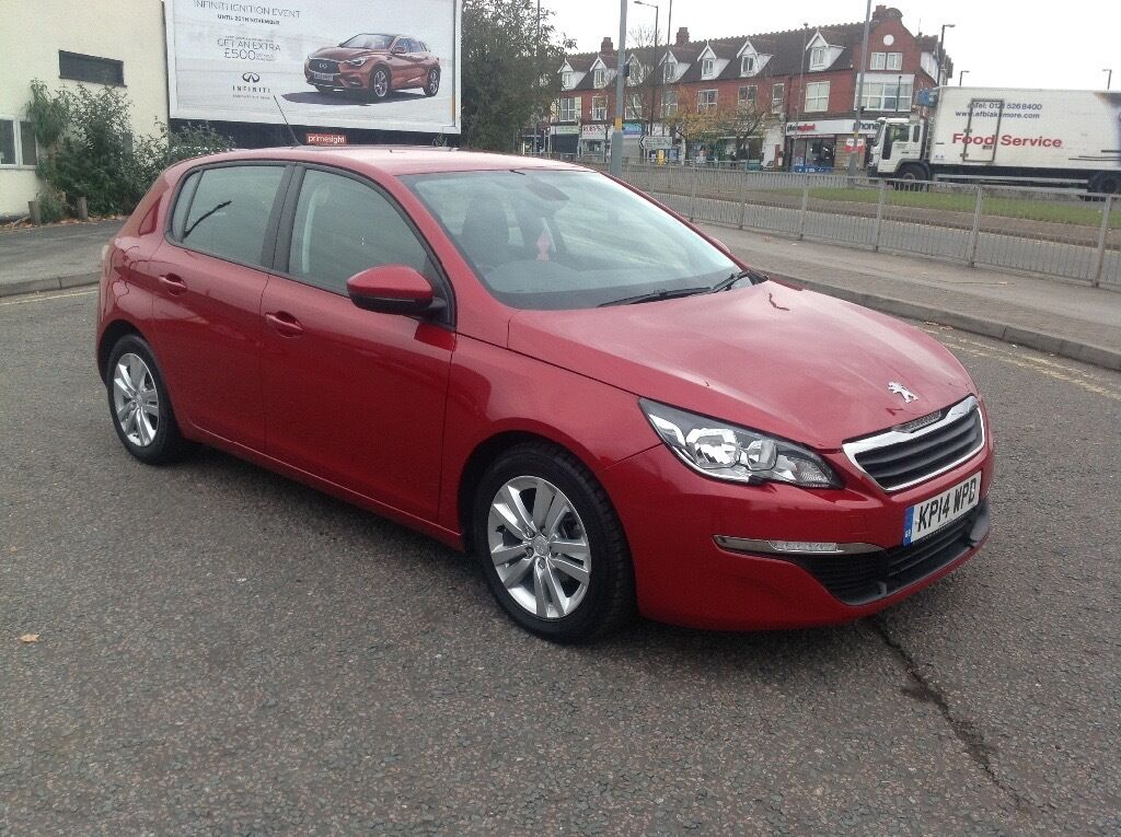 peugeot 308 active hdi 2014 red in alum rock west midlands gumtree. Black Bedroom Furniture Sets. Home Design Ideas