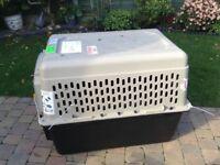 Large dog/pet travel/training crate