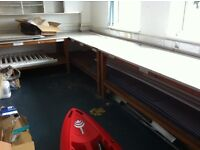 Seven Workbenches for Sale £100