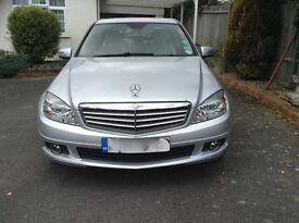 Rare opportunity to purchase a superb condition, low mileage, petrol, 1.8 CGI C Class Mercedes