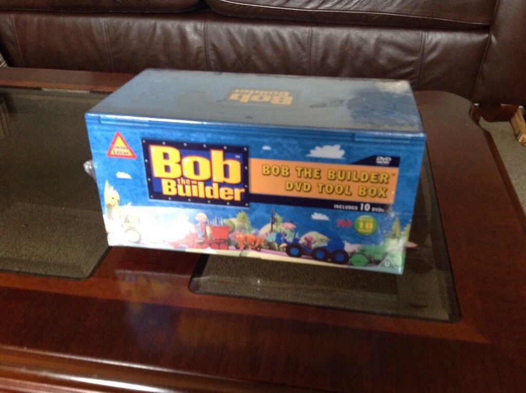 Box set limited edition Bob the Builder - New- unopened - 10 dvds
