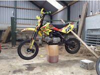 Stomp 140 z2r pitbike scrambler dirt bike buggy quad