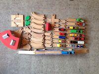 Wooden railway bundle