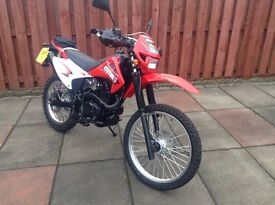 CCM CXR-E 230. Road legal and registered trail motorcycle