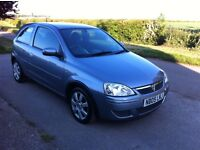 Vauxhall Corsa Breeze 1.0i, 2005, New 12 months MOT