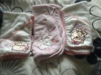 3 BABY HOODED TOWELS