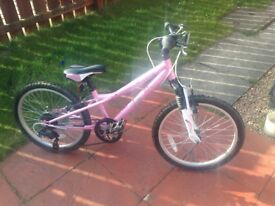 "Girl's 20"" Mystic bike"