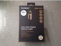 Ultra Slim Digital Optical Cable