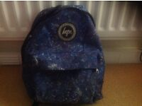 Hype navy speckle backpack