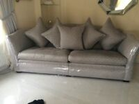 Parker knolls 4 seater & chair sofa