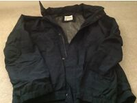 4 men's coats, all extra large, great condition, one is a timberland rain coat