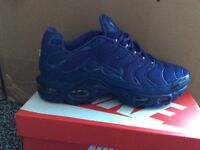 BRAND NEW BOXED NIKE TN's SIZES 6,7,8,9,10,11
