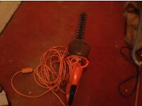Hedge trimmer,electric,£25.00