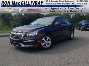 2015 Chevrolet Cruze LT..Sunroof..$138 B/W Tax Inc..GM Certfied