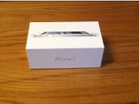 Apple iphone5 32gb White new condition