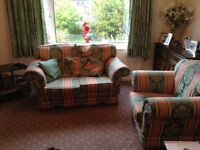 Two Seater Sofa/Double/Suite & Armchair