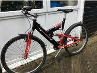 Men's Raleigh Mountain Bike Aluminium 21 Speed