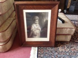 Solid oak framed pictures £45 for the three call 07812980350 I can deliver if you live local