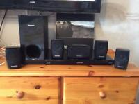 Panasonic 3D surround sound system