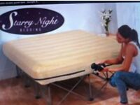 Starry Night Inflatable Double Guest Bed