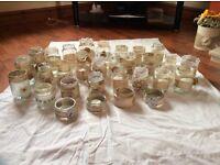 30 glass wedding jars