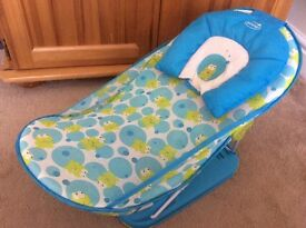 Baby bath support seat
