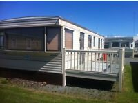 CHEAP STATIC HOLIDAY HOME FOR SALE , SEA VIEWS , 4* PARK , NORTH WEST , PATH WAY TO THE LAKES,