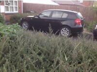 BMW 1 series 5 door 6 speed 2007(57) petrol 116es