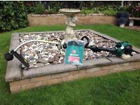 Qualcast 30cc Petrol Garden Strimmer/For spares or repair