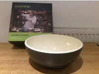 Jamie Oliver Big Bowl. Mixing and serving.