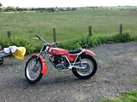 For sale Bultaco Sherpa T twin shock trials bike