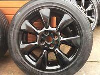 Mini alloys 195/55R16