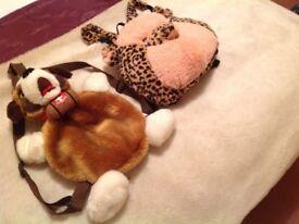 Animal Rucksacks / Shoulder Bags ( brand new)