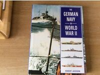 The German Navy in World War II, Hard cover Book.