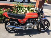 HONDA CB250 N SUPERDREAM BEAUTIFUL ORIGINAL CLASSIC MOTORCYCLE SUPERB CLASSIC AND INVESTMENT 1981