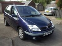 STUNNING RENAULT MEGANE SCENIC WITH ONLY 62,000 MILES AND FULL SERVICE HISTORY