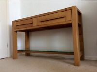 Sanoma marks and spencer console table M&S light oak sideboard